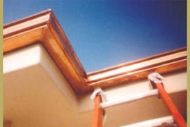 copper gutter orange county