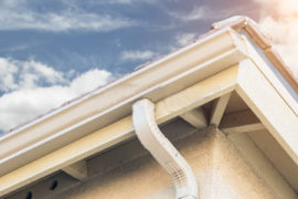 los angeles rain gutter